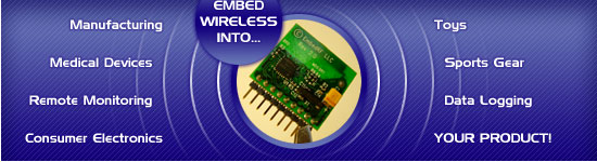 Wireless Transceivers by EmbedRF